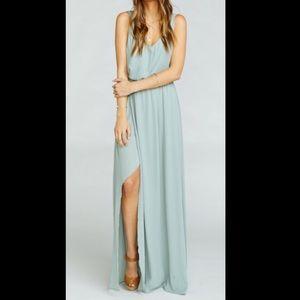 Show Me Your Mumu Kendall Maxi Dress Size S